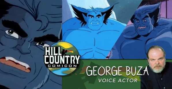 hill country comic con 05 george buza xmen tas