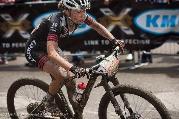 Helen Grobert takes third place in Heubach
