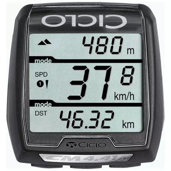 Ciclosport Ciclomaster CM 4.41 A HR Wireless Cycle Computer with Altimeter and Heart Rate Monitor