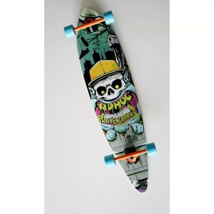 Adhoc Pintail 9.5″ x 40″ Longboard Complete