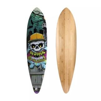 Adhoc Pintail 9.5″ x 40″ Longboard Deck