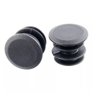 Brand-X Plastic Push In Bar End Plugs