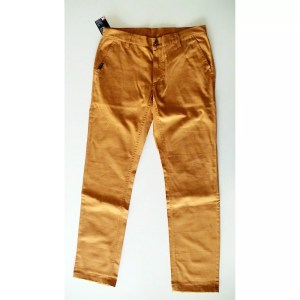 Popcorn Chino Pants - Orange