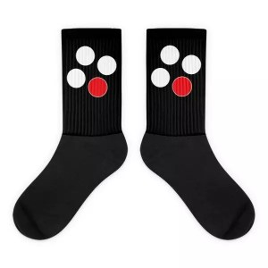Popcorn ID Logo Socks