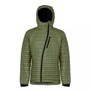 Faction GALILEO MEN'S DOWN MID-LAYER 800-fill 90/10 goose Field Green