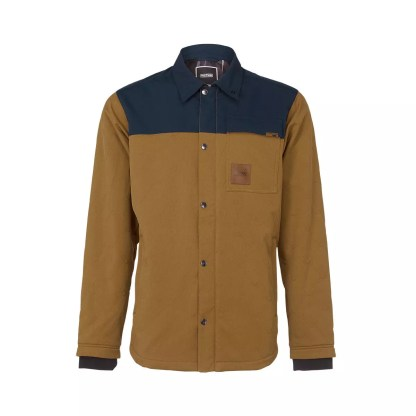 Faction HUDSON 10/5 RIDING SHIRT Midnight Blue / Buckthorn Brown