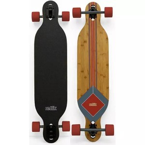 """Rellik Red Bamboo 38"""" x 8.5"""" Complete Longboard"""