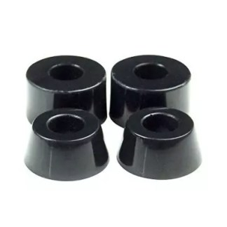 Rellik Longboard Truck Bushings Black 96A