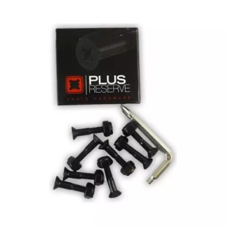 "Plus Reserve Hardware 7/8"" Allen/Phillips Black"