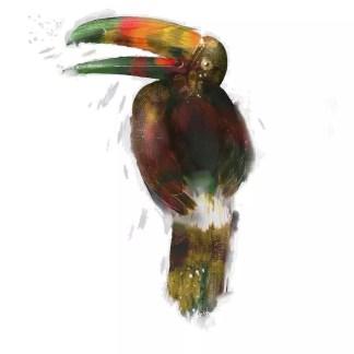 XMKD Tropical Bird T-Shirt