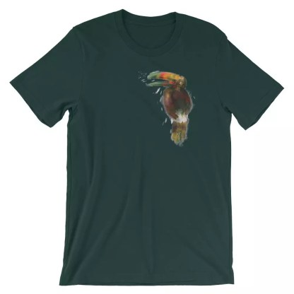 XMKD Tropical Bird T-Shirt