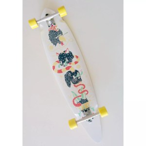 Adhoc Pintail 9.5″ x 40″ Longboard Complete