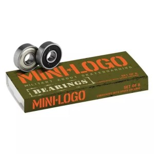 Mini Logo Skateboard Bearings