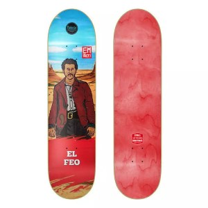 "EMillion ""El Feo"" 8.25"" Skateboard Deck"