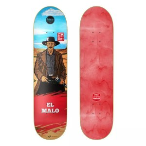 "EMillion ""El Malo"" 8.125"" Skateboard Deck"