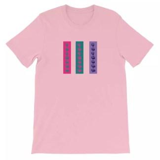 Popcorn Skate Co. Stripes Logo T-Shirt