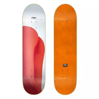 "EMillion Ain´t No Mountain Red 8.0"" Skateboard Deck"