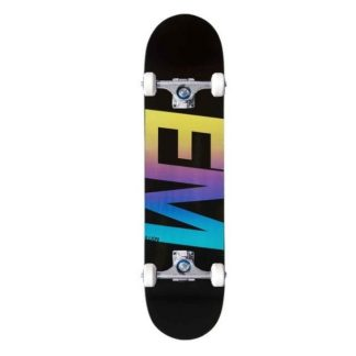 "EMillion Spectrum Black 8.0"" Complete Skateboard"
