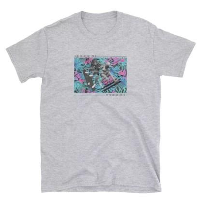 Popcorn x I AM MANCHE Cotton Short Sleeve Unisex T-Shirt