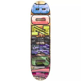 """Popcorn Georgi Bozikov 8.0"""" Skateboard Deck"""
