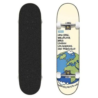 "Tricks World 8.0"" Complete Skateboard"