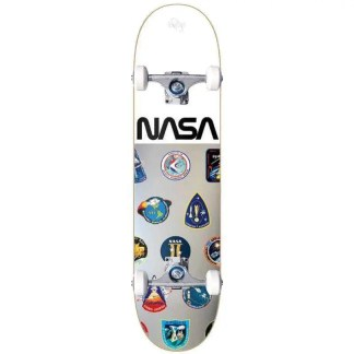 Habitat NASA Collection Foil 8.0″ Complete Skateboard