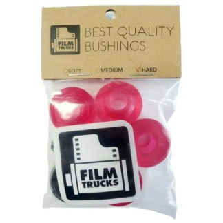 Film Trucks Bushings Hard Transparent Red