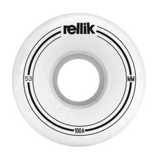 Rellik Mini Logo Skateboard Wheels Slim Cut 53x29mm 100A (Set of 4)