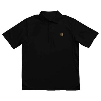 SB Embroidered Polo Shirt Black