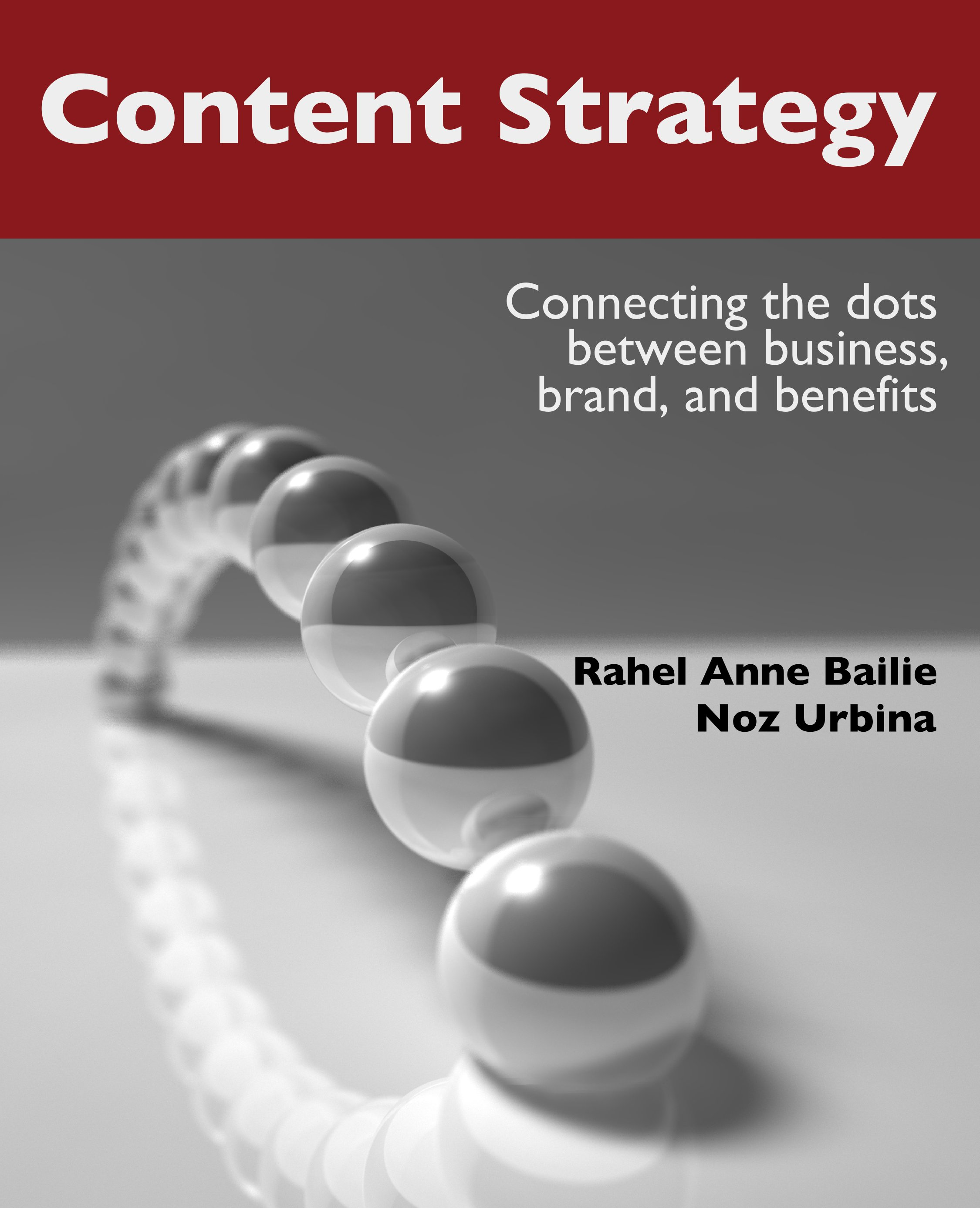 Content Strategy Connecting the dots between business brand and benefits  XML Press