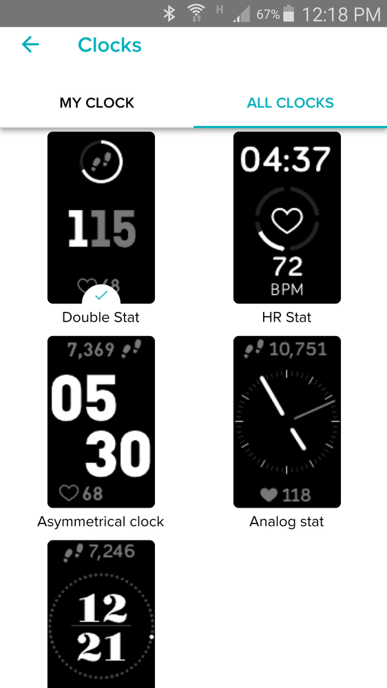 Make Your Own Clock Face Fitbit