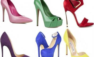 Pantofi dama in voga primavara 2015
