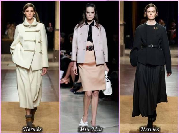 Palton scurt pentru femei primavara 2015