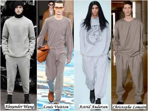 Stil pijama haine barbati iarna 2015