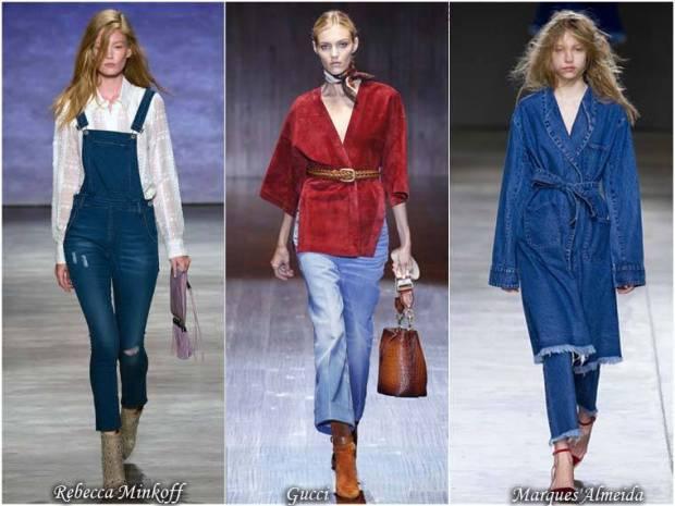 Blugul la moda primavara 2015