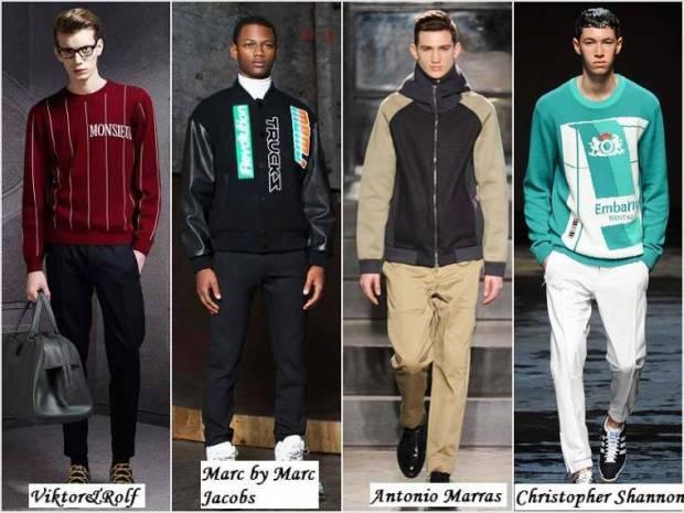 Stil sport haine barbati iarna 2015