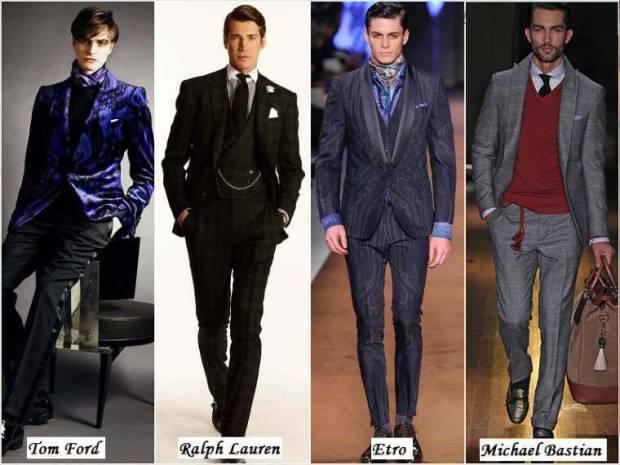 Haine stil dandy la moda barbati iarna 2015