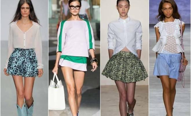 Fuste la moda: primavara 2015