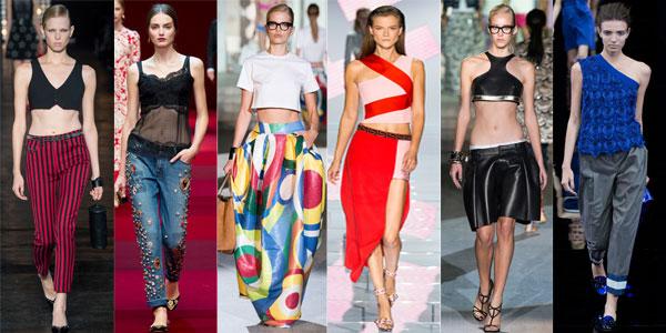 Topuri si tricouri la moda pentru femei primavara-vara 2015
