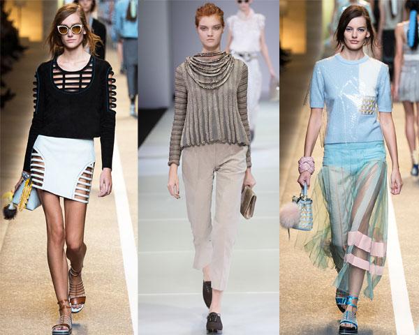Bluzite scurte primavara vara 2015
