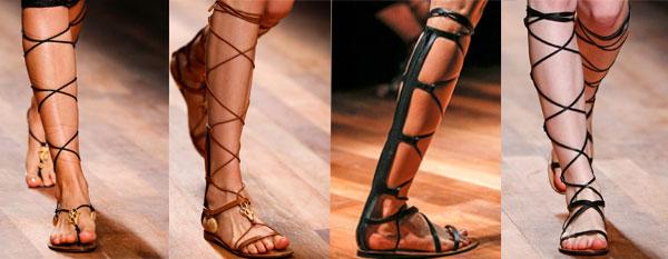 Sandale dama gladiator Valentino