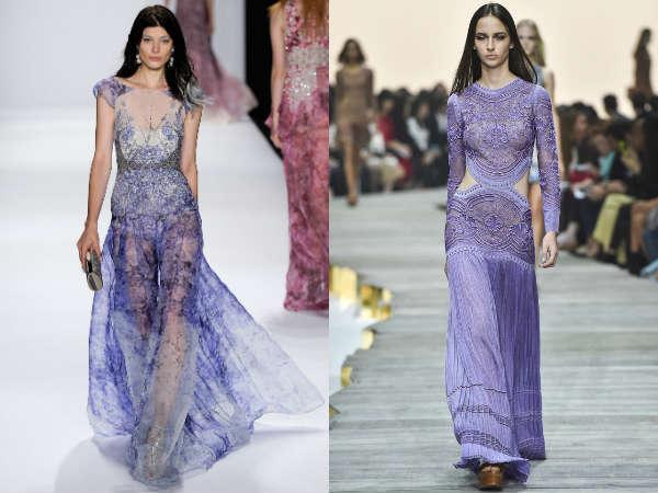 Modele rochii de seara 2015 din dantela