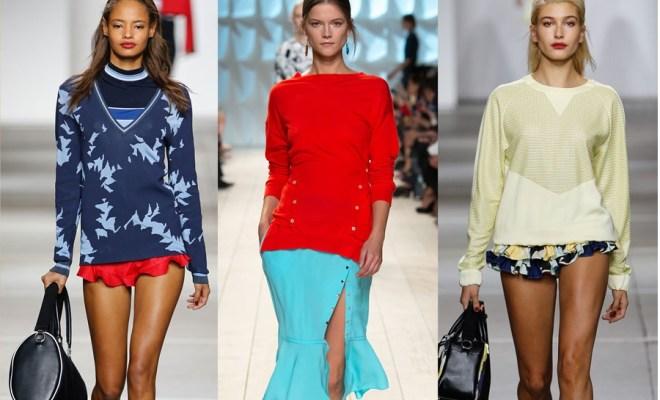 Pulovere la moda, helanci si hanorace primavara-vara 2015