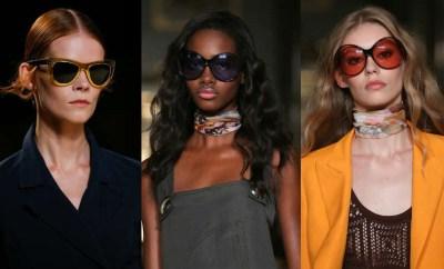 Ochelari de soare dama la moda primavara-vara 2015