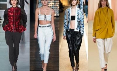 Pantaloni dama la moda primavara-vara 2015