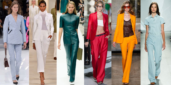 Costume dama cu pantaloni 2015