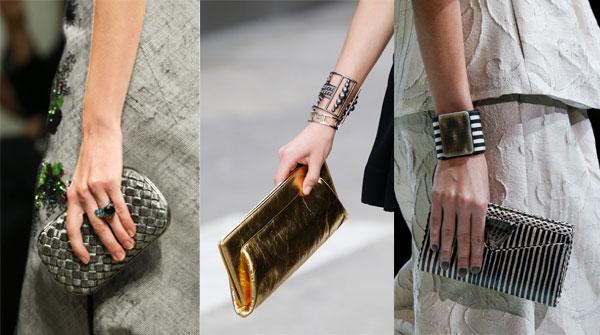 Genti plic-portofel la moda primavara-vara 2015
