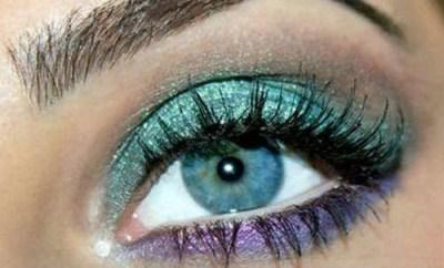 Machiaj ochi albastri - Reguli de baza