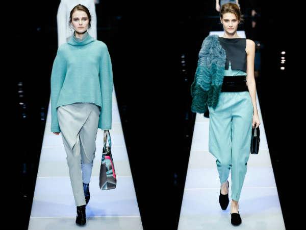 Giorgio Armani saptamana modei de la Milano