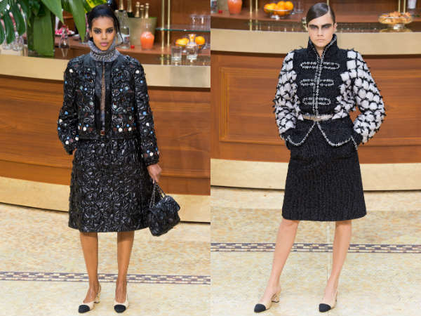 Colectia Chanel la saptamana modei de la Paris toamna iarna 2015 2016
